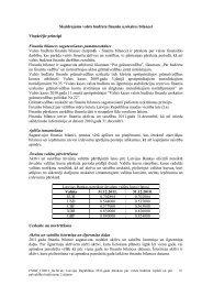 Skaidrojums valsts budžeta finanšu uzskaites bilancei - Valsts kase