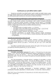 Skaidrojums par pašvaldību budžeta izpildi - Valsts kase