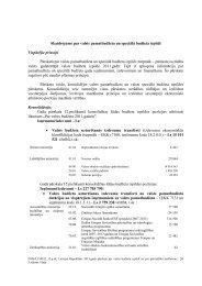 Skaidrojums par valsts pamatbudžeta un speciālā ... - Valsts kase