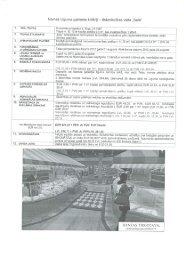 Nomas Līguma galvenie kritēriji -tirdzniecības vieta ,,Salā