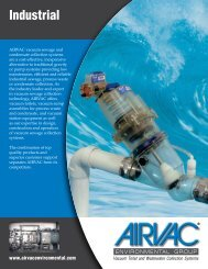Download Industrial Brochure (1MB PDF) - Airvac