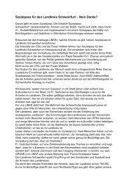 Sozialpass für den Landkreis Schweinfurt - DIE LINKE Schweinfurt