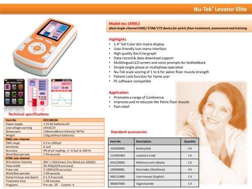 Nu-Tek ® Maxi Plus 1 Mod