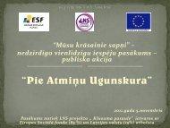 """publiska akcija """"Pie atmiņu ugunskura"""" - Latvijas Nedzirdīgo savienība"""