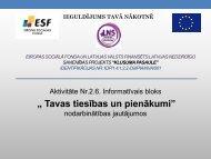 Klusuma pasaule - Latvijas Nedzirdīgo savienība