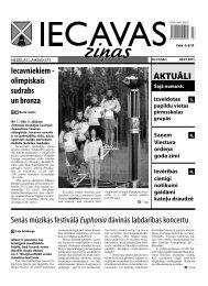 08.07.2011. (Nr.27) - Iecavas novads