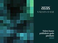 2010.gada publiskais gada pārskats - Valsts kase
