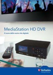 MediaStation HD DVR_A4 Flyer ITALIAN.indd - Verbatim