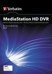 MediaStation HD DVR - Verbatim