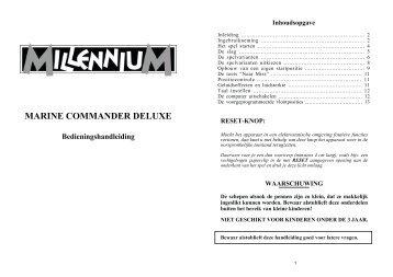 MARINE COMMANDER DELUXE - Millennium 2000 GmbH