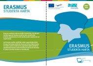 Erasmus studenta harta