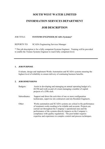 Charming Systems Engineer Job Description | Saurus Networks. 8. Excellent Written And
