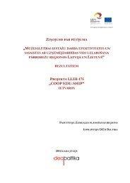 Ziņojums - Ventspils Augstskola