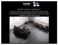"""""""Karelia"""" parketa izp rdošana! ā - Salons REvolU2ION"""