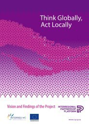 Think Globally, Act Locally - Interregional Partnership Platform