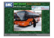 BMC 215 SCB Skolēnu autobuss