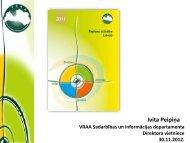 Pārskats par Latvijas reģioniem 2011 - Valsts reģionālās attīstības ...