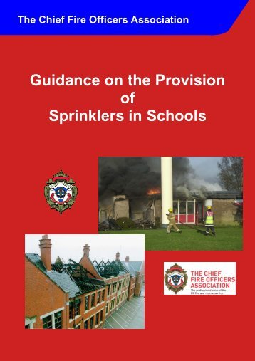 Sprinklers in schools - North Yorkshire Fire & Rescue Service