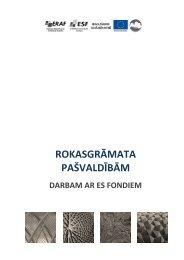 Rokasgrāmatas drukas versija - Valsts reģionālās attīstības aģentūra