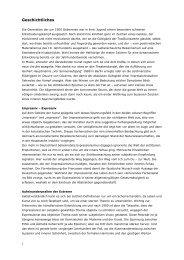 Geschichtliches als PDF - KARL HOSCH