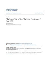 The Jewish Trail of Tears The Evian Conference of ... - Haruth.com
