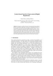 Context-based Search in Topic-centered Digital ... - ResearchGate