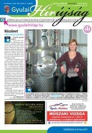 PDF dokumentum (7114 KByte) - Gyulai Hírlap
