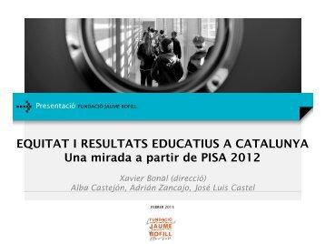 Presentacio_EQUITAT I RESULTATS EDUCATIUS A CATALUNYA