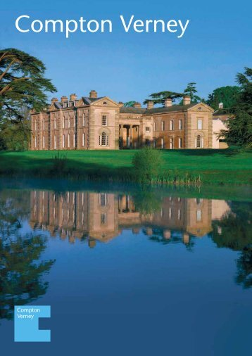 Download our corporate events brochure - Compton Verney