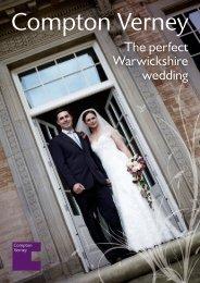 View the Compton Verney Wedding brochure