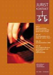 Juristkontakt 1 - 2001