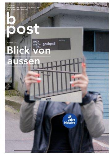 B-Post 2013.1 - Contenti
