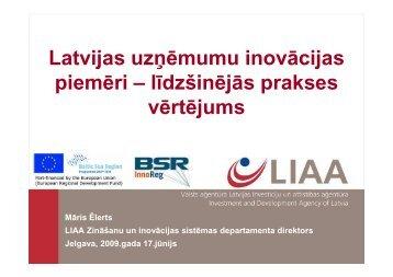 Latvijas uzņēmumu inovācijas piemēri