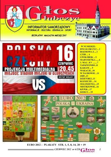 EURO 2012 - PLAKATY STR. 1, 5, 8, 14, 20 + 19