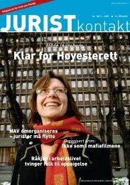 Juristkontakt 2 - 2007