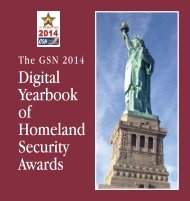 2014 Digital Yearbook of Homeland Security Awards