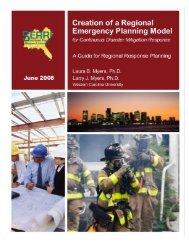 Creation of a Regional Emergency Planning Model - Community ...