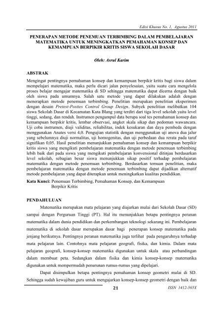 Download Jurnal Upi Universitas Pendidikan Indonesia