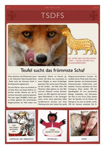 Teufel sucht das frömmste Schaf (Parodie) - Datenkerker.de