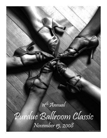 Purdue Ballroom Classic - Purdue Latin & Ballroom Dance Club