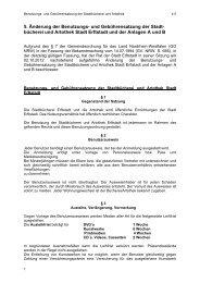 Benutzungs- und Gebührenordnung Stadtbücherei und Artothek