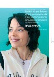 Interview mit Mona Vetsch im «Gesund sitzen», 2005 - jak.ch