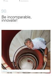 Be incomparable, innovate!»; in Marketing 2010 ... - Lahor Jakrlin
