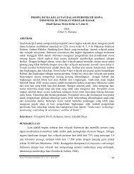 profil dunia kelautan dalam perspektif siswa indonesia di - Jurnal UPI