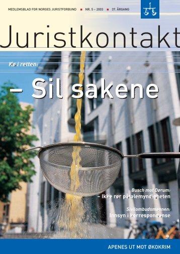 Juristkontakt 5 - 2003