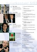 Juristkontakt 5 - 2003 - Page 3