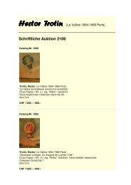Katalog Trotin 2106 - Galerie Widmer Auktionen AG