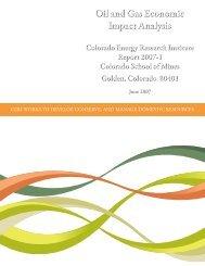 report - CERI-Colorado Energy Research Institute