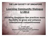 2012 [Senior Category] - Law Society of Singapore