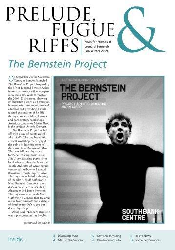 The Bernstein Project - Leonard Bernstein